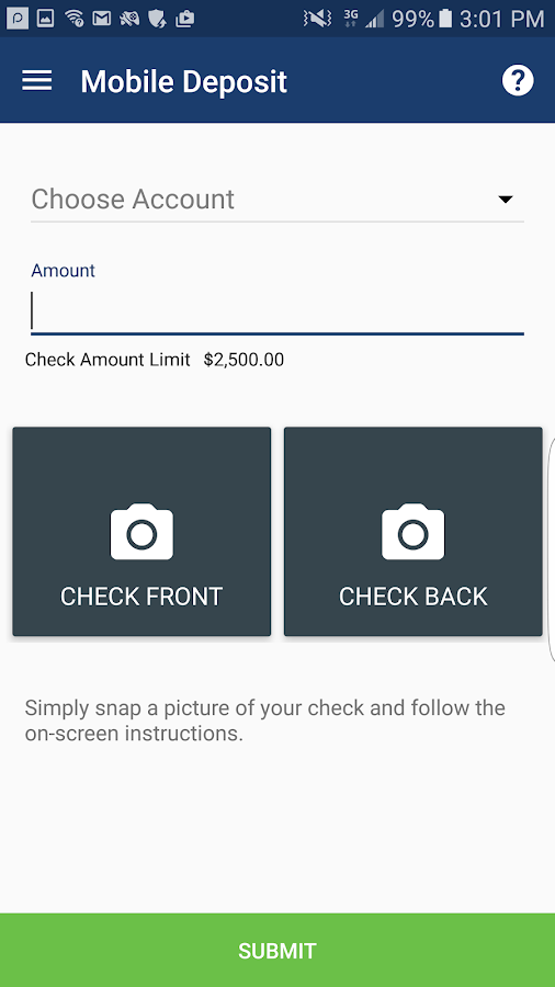 VACU Mobile Banking- screenshot
