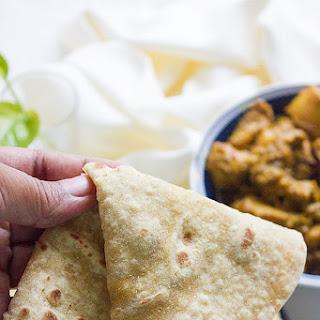 Pulka (Phulka) Indian Flat Soft Bread.