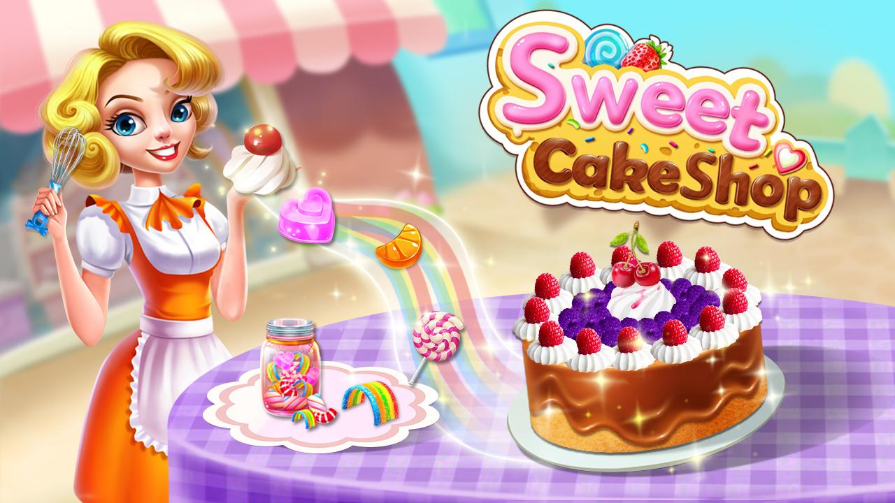 Sweet Cake Shop - Kids Cooking & Bakery- screenshot