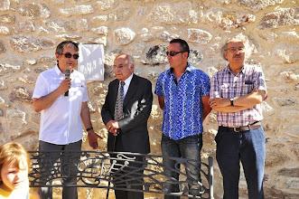Photo: Fernando Rubio, Francisco Brines, Fernando Rubio, Francisco Brines, Carlos Marzal y Antonio Colinas