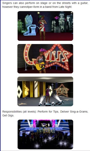 Guide for The Sims 3 Showtime