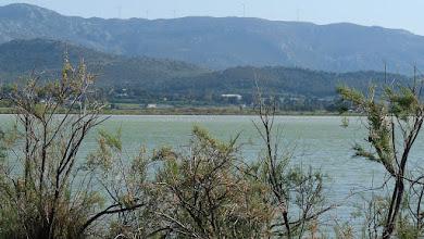Photo: Kos hills form Alykes Lake, Tigaki