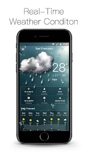 Free Local Weather Forecast Widget - náhled