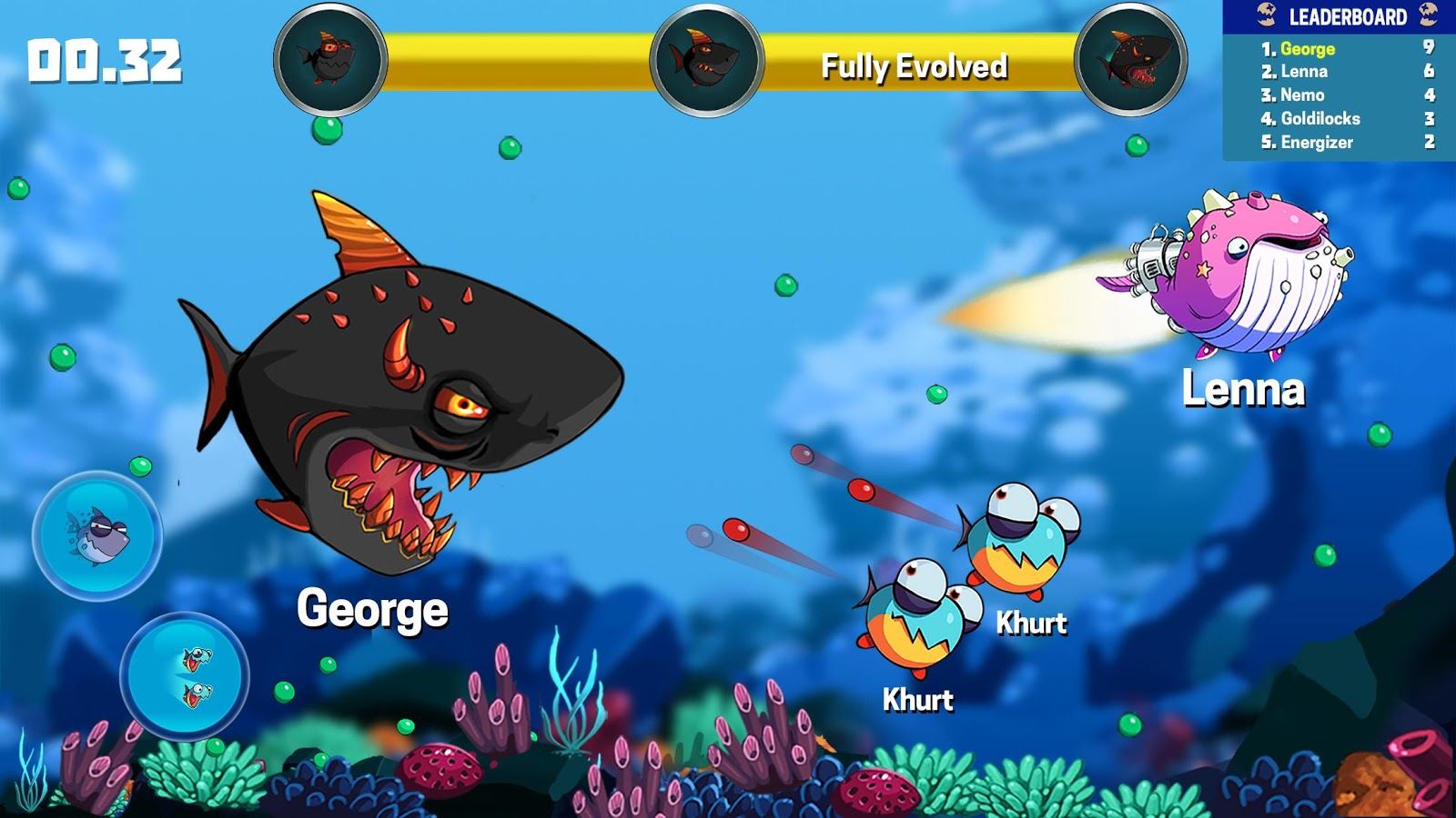 hungry fish fun game android apps on google play