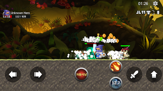 Unknown HERO – Item Farming RPG. Apk Download For Android and Iphone 6