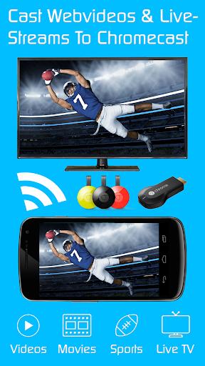 Video & TV Cast + Chromecast  screenshots 1