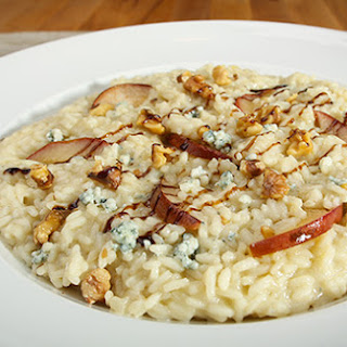 Risotto with Pears and Blue Cheese