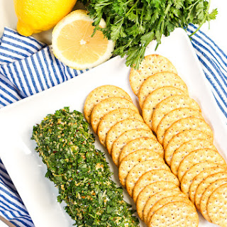 Lemon and Herb Goat Cheese Log