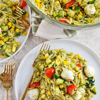 End of Summer Orzo Salad