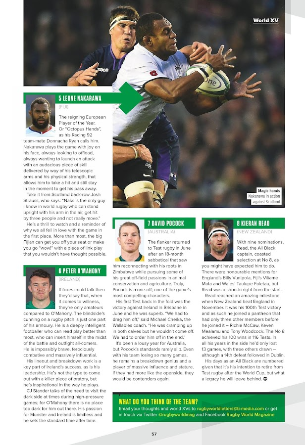 Rugby World- screenshot