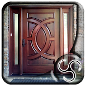 Simple Wooden Front Door
