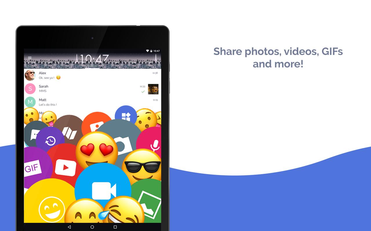 Mood Messenger - SMS & MMS screenshots