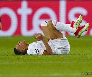 Des nouvelles de Kylian Mbappé, sorti blessé à Bruges