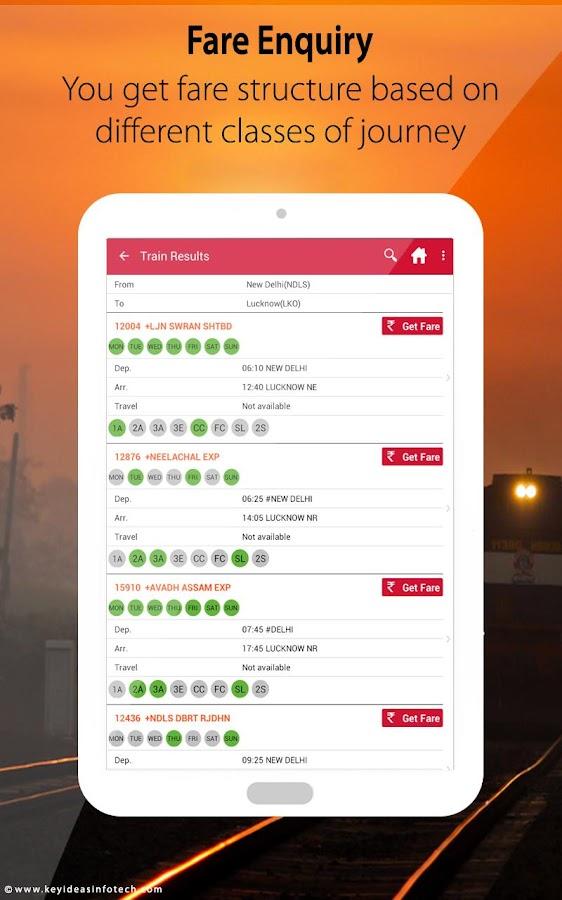 Indian Rail IRCTC & Train PNR- screenshot