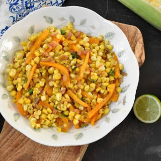 Fresh Spiced Corn Salad.