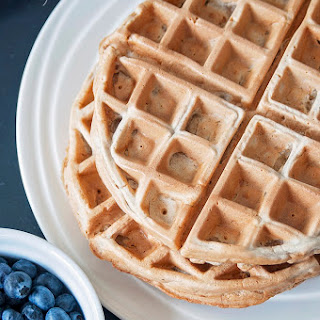 Cinnamon Whole Wheat Waffles