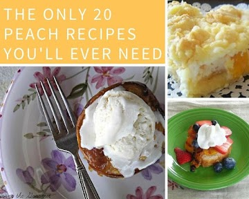 The Only 20 Peach Recipes You'll Ever Need