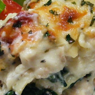 White Chicken Lasagna Recipes