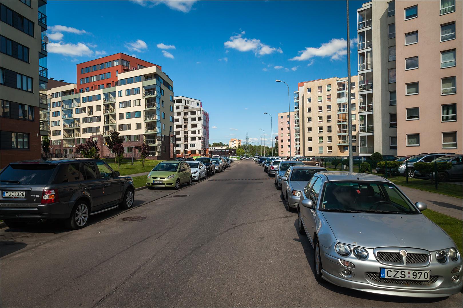Photo: Лаздинай, один из районов Вильнюса