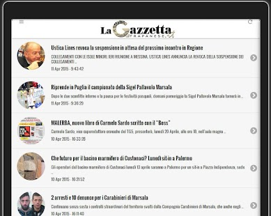 La Gazzetta Trapanese- screenshot thumbnail