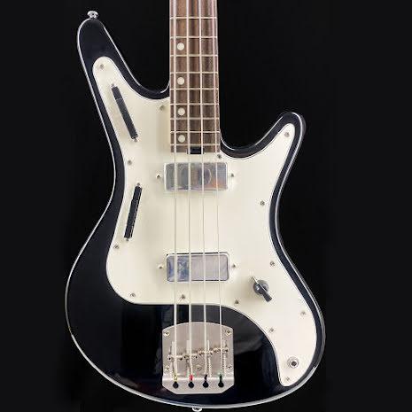 Nordstrand Acinonyx Bass Black White Pickguard