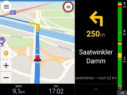 CoPilot DACH GPS Navigation Screenshot