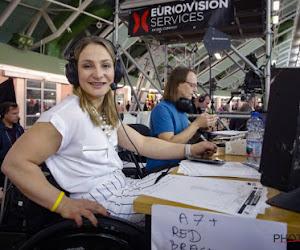 Kristina Vogel laat horrorcrash achter zich als commentator vanuit haar rolstoel