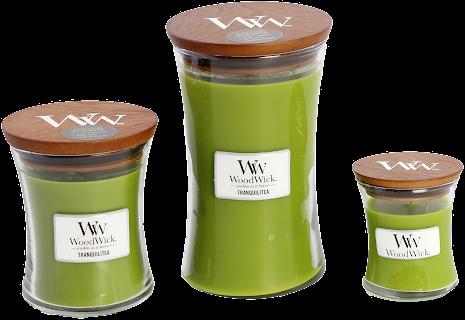 WoodWick - Tranquili Tea