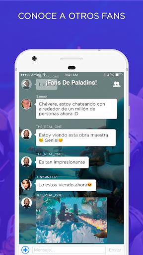 Campeu00f3n Amino para Paladins en Espau00f1ol  screenshots 2