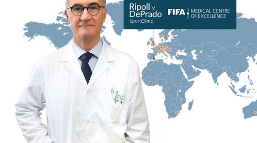 El doctor Ripoll es el médico de referencia para nuestro fútbol