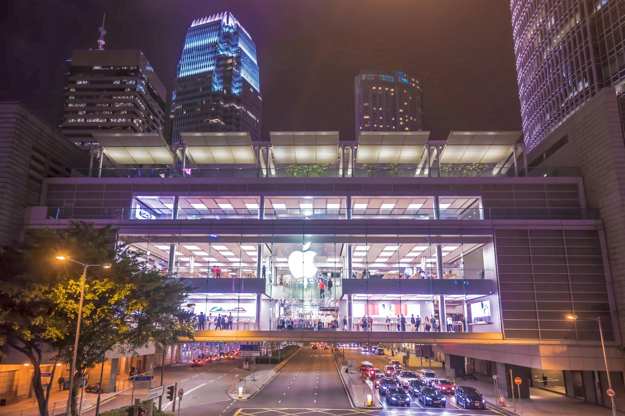 香港 アップルストア
