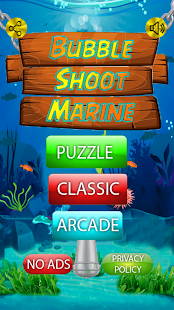 Bubble Shoot Marine Screenshot