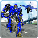 Air Force Real Robot Transform: Fighter Jet Plane APK