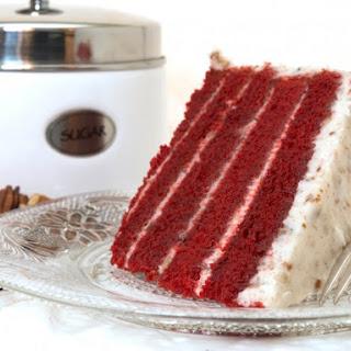 Sylvia's Red Velvet Cake.