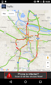 Portland Traffic from KGW.com screenshot 1