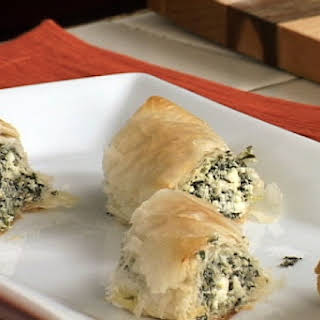 Spinach And Cheese Roll.