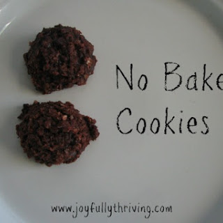 No-Bake Chocolate Oatmeal Cookies.