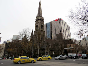Photo: Melbourne - Scot's Church (Collins St.)