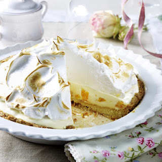 Mandarin Orange Meringue Pie.