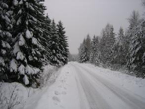 Photo: Weg zur Bobbahn