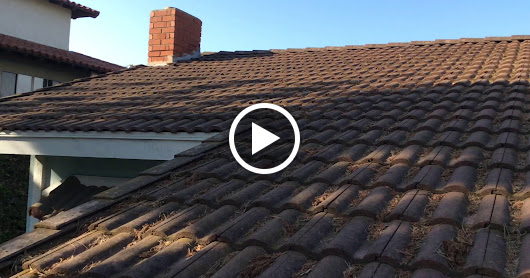 Tile Roof Cleaning. Palos Verdes, CA