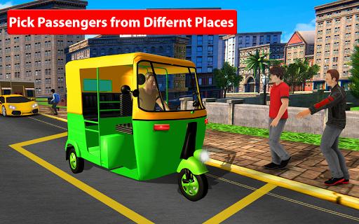 Rickshaw Driving Simulator - Drive New Games screenshots 8