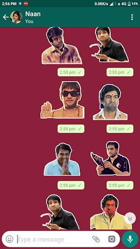 Sticker Kadai:Tamil Whatsapp Sticker-WAStickerApps 2.25 screenshots 2