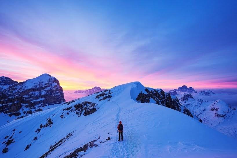 Momentos mágicos en los Alpes con Lukas Furlan