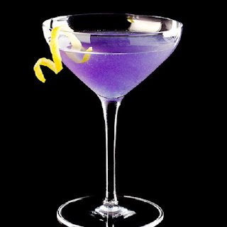 Blue Moon Martini.