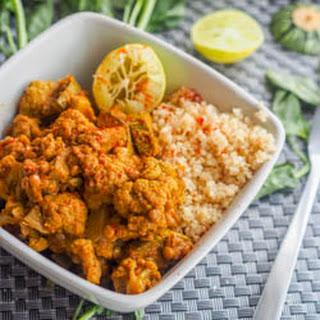 Vegan Cauliflower Stew with Lentils and Squash {GF} Recipe