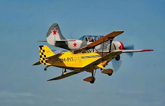 Photo: Pitts Special S2 - pilot Dušan Šamko and Yak 52 pilot Palo Kavka