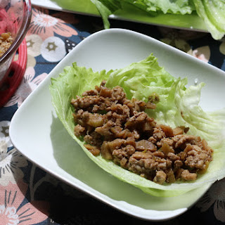 Gluten-free and low FODMAP Lettuce Cups.