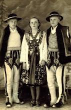Photo: Kwak Jan Symcyk,Kwak AnielaSymcykowa,Józef Scisłowicz Protek