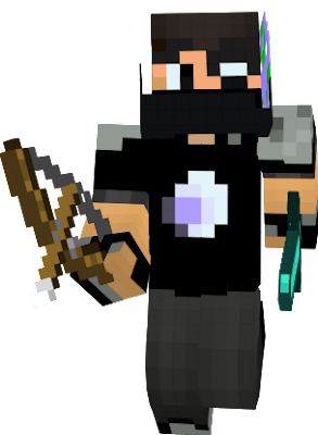 Bandito, know in his late twenties, is a pro at raiding nether, ender, and herobrine layer merch, his eye was badly scarred in an attempt with the ender dragon